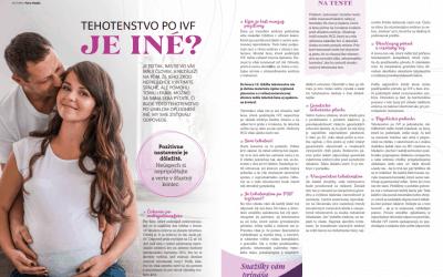 Tehotenstvo po IVF. Je iné? (10/2019)
